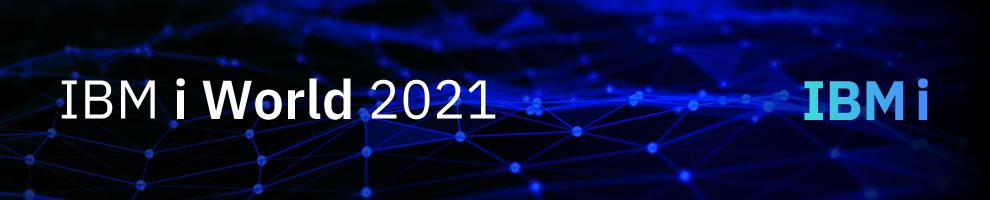 IBM i World2021 告知バナー
